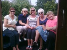 Canal boat cruise with the pensioners club Aug 2013